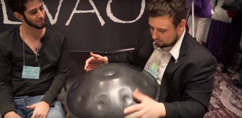 Tzevaot Hand Pan Instrument Demonstration @ 2016 Conscious Life Expo.