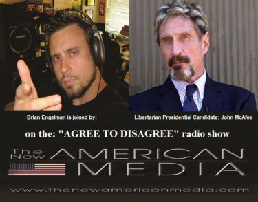 Libertarian Presidential Candidate John McAfee Talks W/ Brian Engelman About The Process.