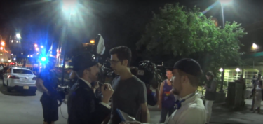 Breitbart Editor Assaulted by Daily Show Adversary @ Milo Yiannopoulos Event.